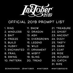 Image result for inktober 2019